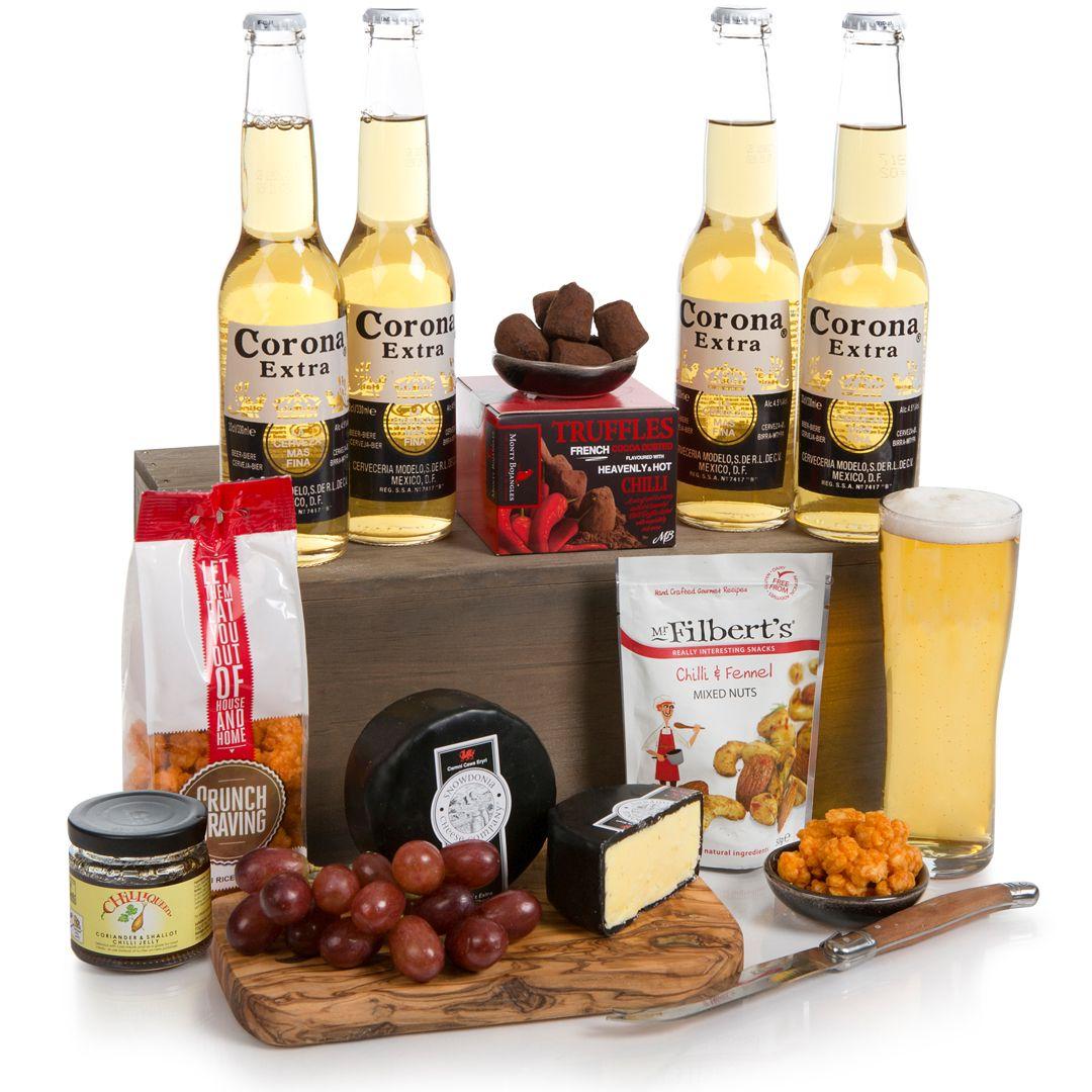 Beer Hampers - hot n spicy with beers