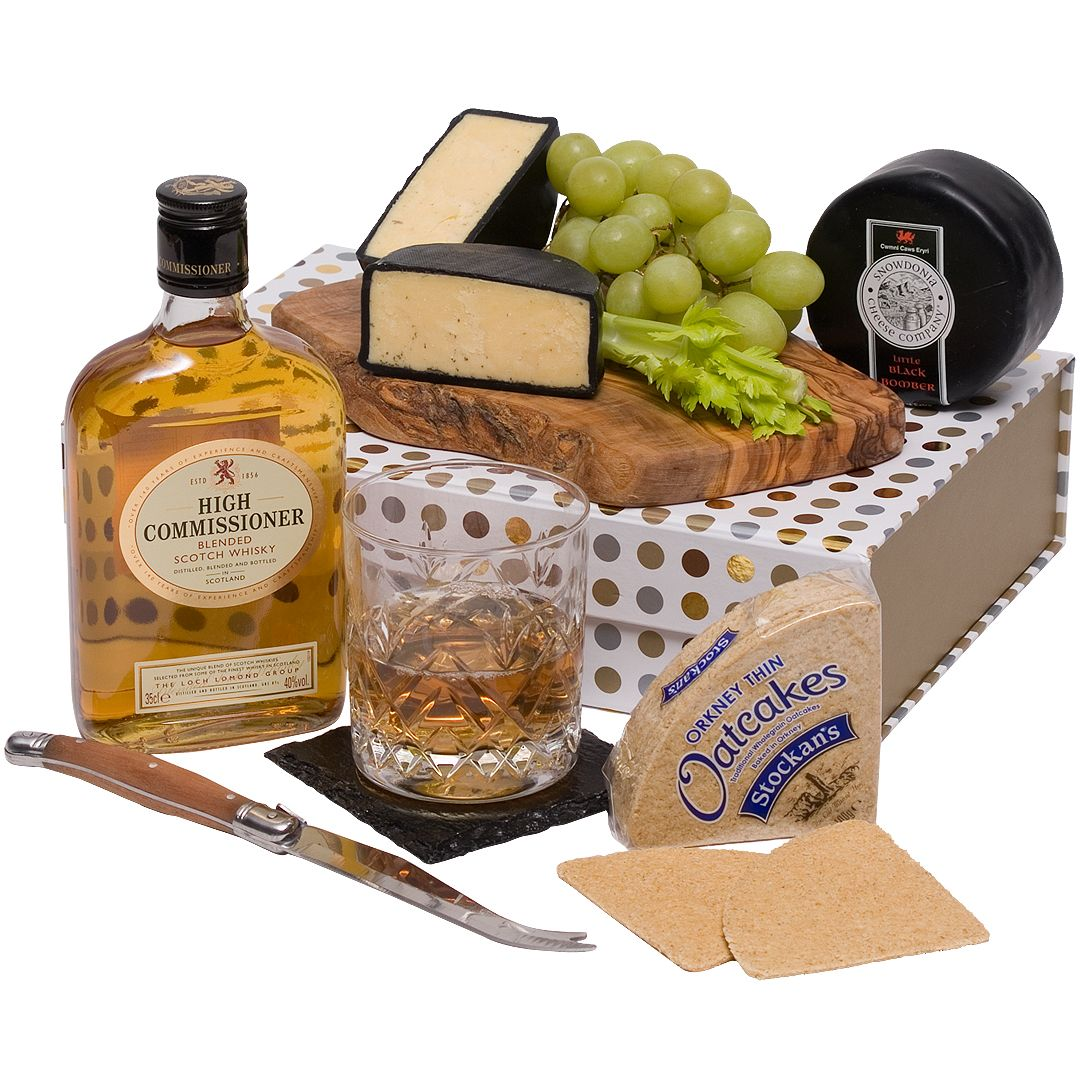 Fathers Day Whisky & Cheese Hamper