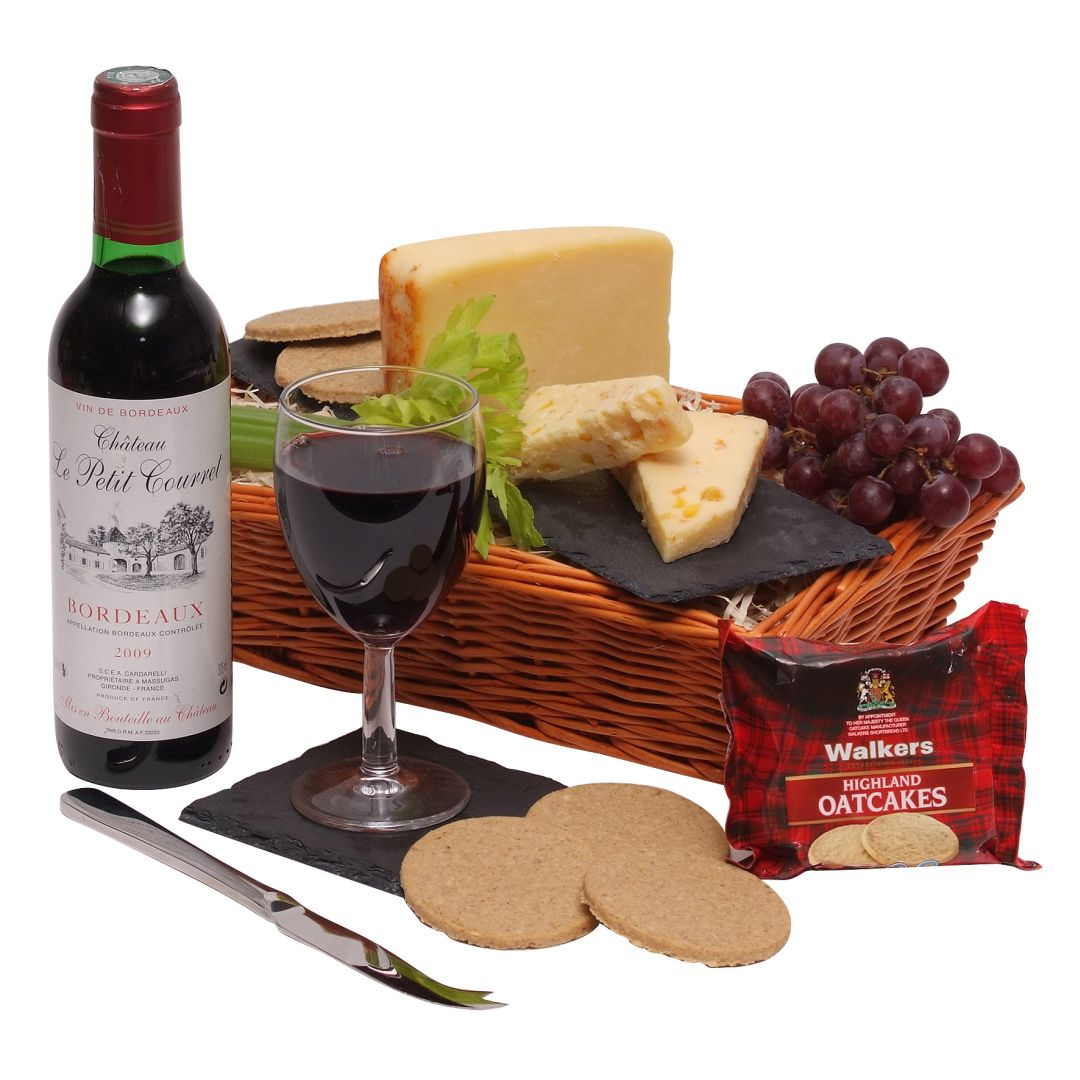 Wine & Cheese Hampers - wine & cheese collection hamper