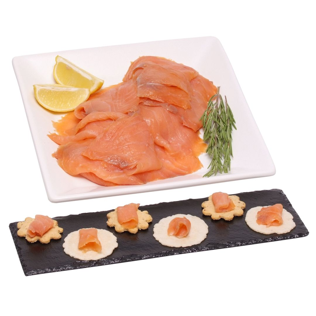 Hampers 500g Sliced Smoked Scottish Salmon