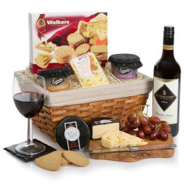 Wine, Cheese & Pate Hamper Hamper