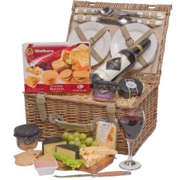 Luxury Wine, Cheese & Pate Hamper
