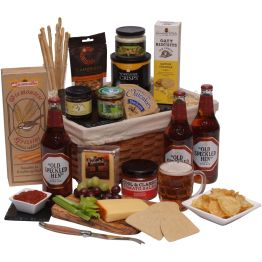Gentlemans Ale Basket Hamper