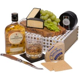 Whisky & Cheese Set Hamper