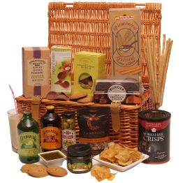 Luxury Alcohol Free Hamper Basket Hamper