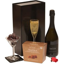 Prosecco & Chocs For Her Hamper