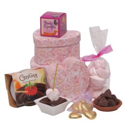 Valentine's Tower Of Hearts Hamper