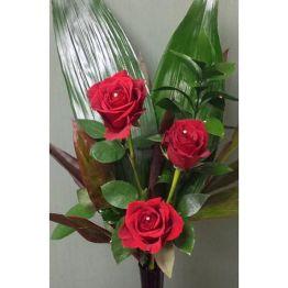 Not 1 But 3 Roses Hamper