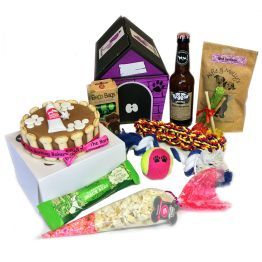 Blue Puppy Hamper Hamper