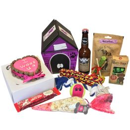 Blue Cat House Hamper  Hamper