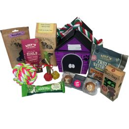 Deluxe Cat Treat Hamper Hamper