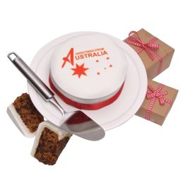Australian Greetings Cake   Hamper