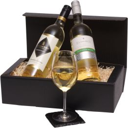 Two Bottles Australian White Wine Hamper