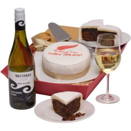 New Zealand Cake And Wine