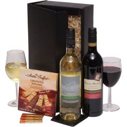 Two Napa Valley Wines & Chocs Hamper