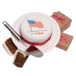 US Greetings Cake Hamper