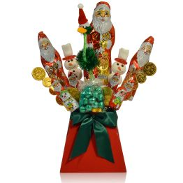 The Xmas Choccy Bouquet Hamper