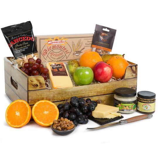Fruit, Cheese & Snacks Hamper Hamper
