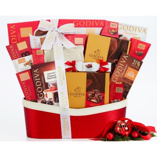 The chocoholics Gift Basket Hamper
