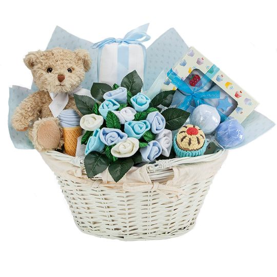 Luxury Baby Gift Hamper : It s a boy gift basket luxury baby hamper