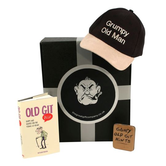 Gift Box for Grumpy Old Gits (UK ONLY) Hamper