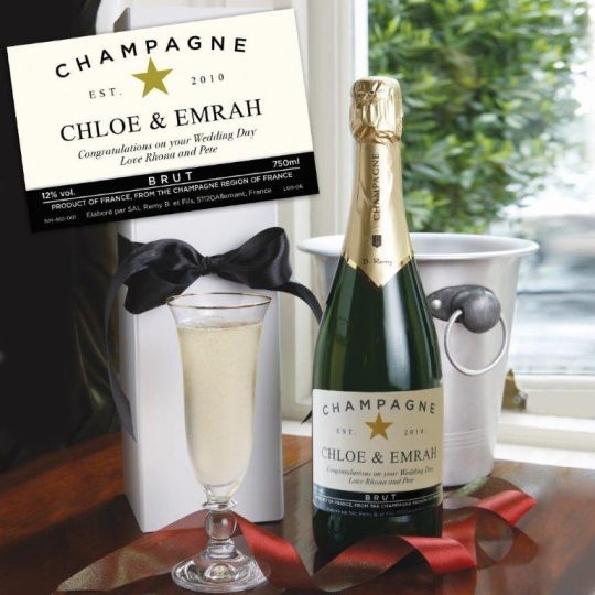 Personalised Fizz Gift - Celebration time!  Hamper