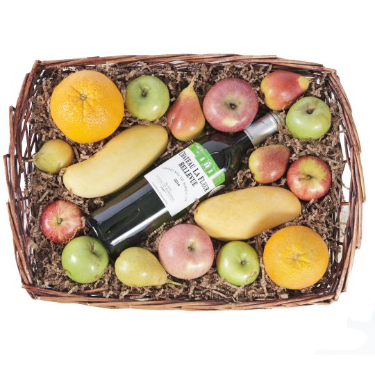 Wine & Fruit Hamper Hamper