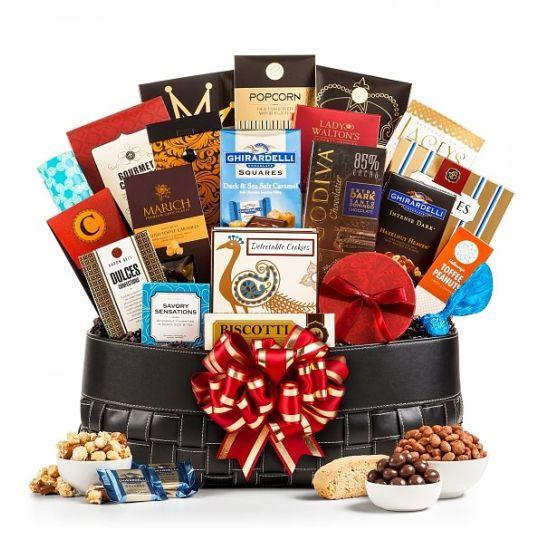 Gourmet Grandeur Gift Basket (USA Only) Hamper