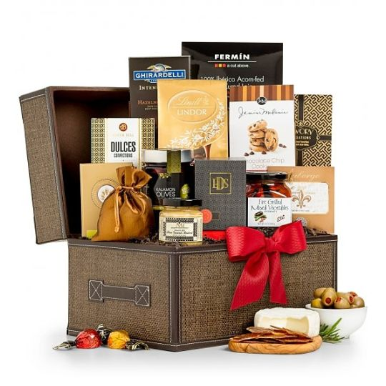 The Grand Gourmet Gift Basket Hamper
