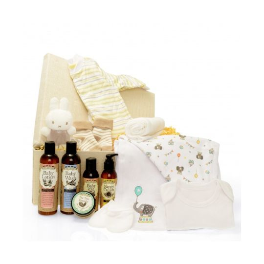 It's a New Baby Organic Hamper Hamper