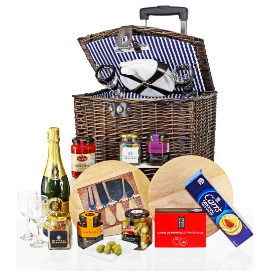 Ultimate Gourmet Picnic on Wheels (Dark) Hamper