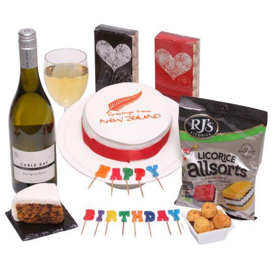 New Zealand Birthday Greetings Hamper