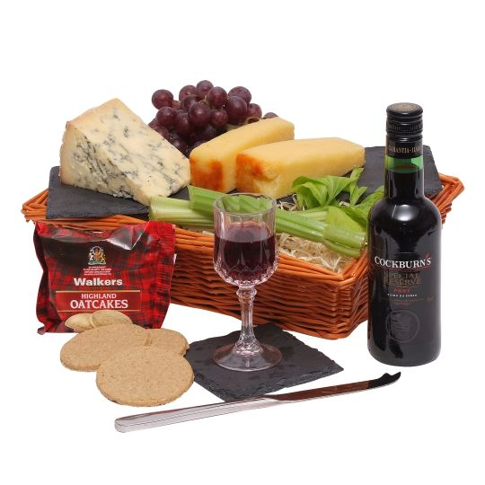 Quarter Port & Stilton Selection Hamper