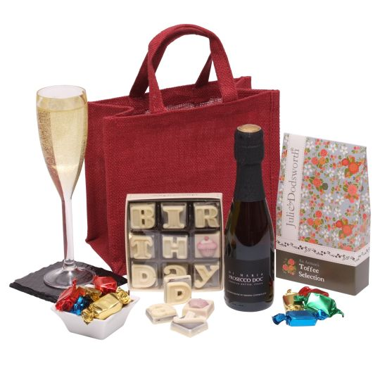 The Little Red Birthday Hamper Hamper