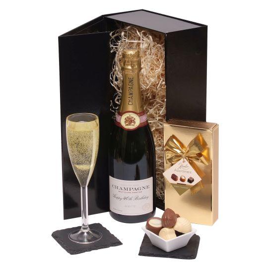 Happy 40th Birthday Champagne Gift Hamper