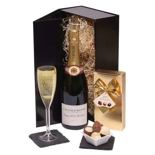 Happy 80th Birthday Champagne Gift Hamper