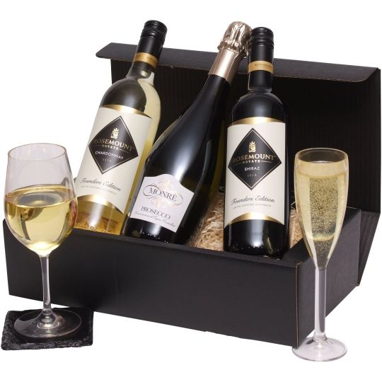 Three Bottle Mixed Wines Hamper
