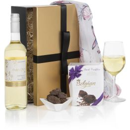 Ladies Choice White Gift Set Hamper