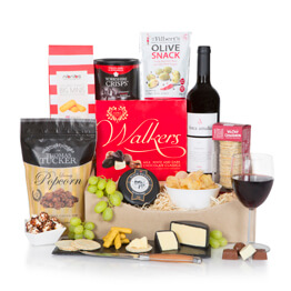 Father's Day Luxury Wine & Cheese Selection Hamper