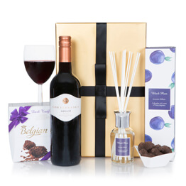 Ladies Indulgence Red Gift Set Hamper