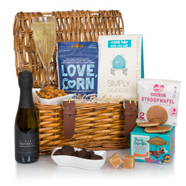 Prosecco Treats Basket Hamper