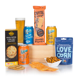 Craft Beer & Food Hamper Hamper