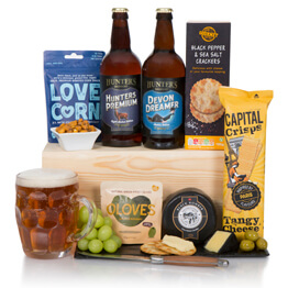 Craft Beer, Cheese & Snacks Hamper Hamper