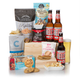 Big Boys Craft Lager Hamper Hamper