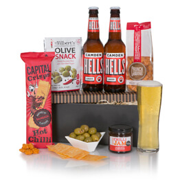 Spicy Beer Gift For Him Hamper