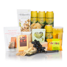 The Cider & Cheese Summer Hamper Hamper