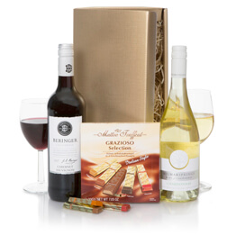 Californian Wines & Chocolates Hamper