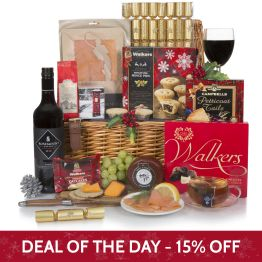 Luxury Christmas Cracker Hamper Hamper
