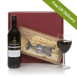 Wine With Chocolate Corkscrew Hamper