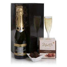Champagne & Truffles Gift Set Hamper